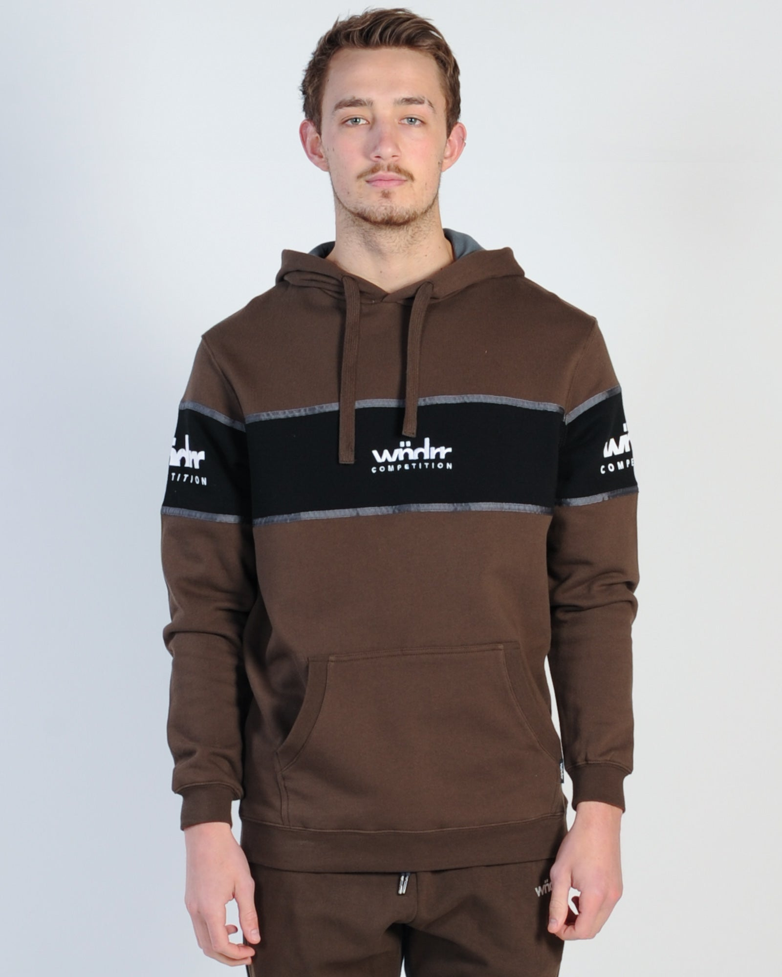 Wndrr Obsidion Hood Sweat - Black