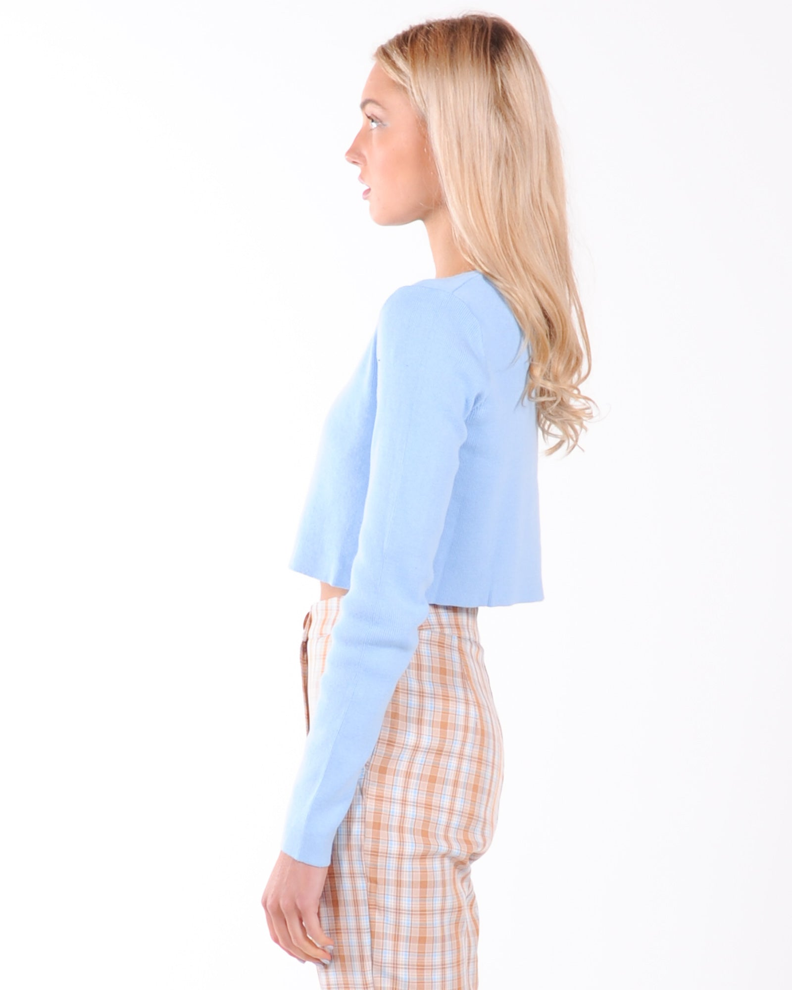 The New Rules Cardigan - Blue