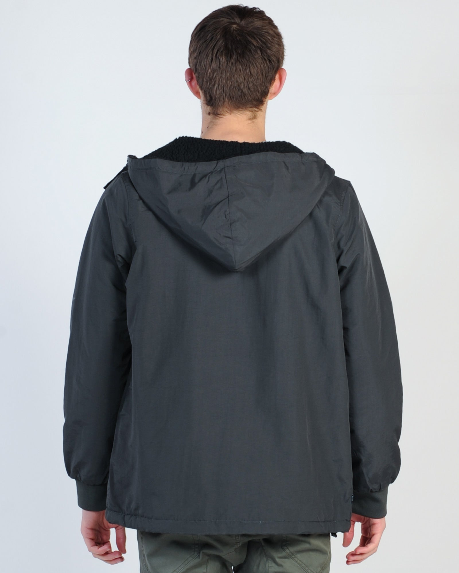 Stussy Sun Valley Reversible Jacket - Black/Black