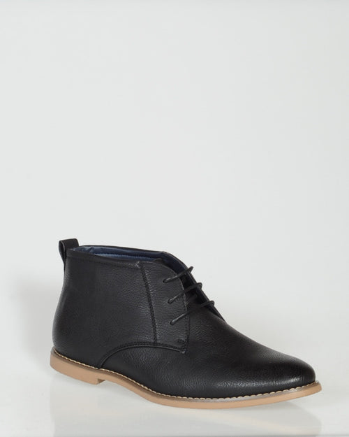 UNCUT MORAY BOOT - BLACK