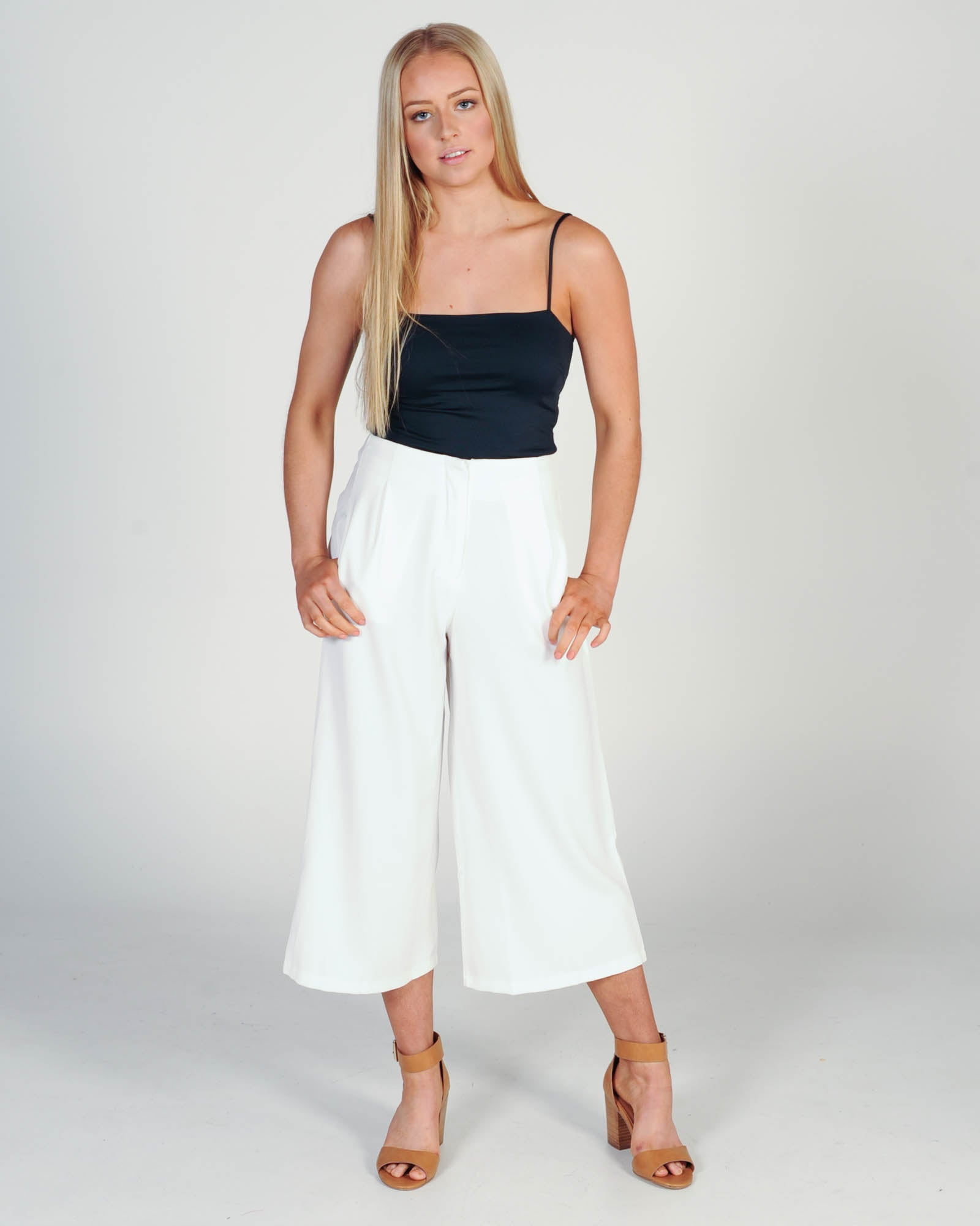 Make A Statement Pant - White