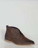 UNCUT MORAY BOOT - CHOCOLATE BROWN