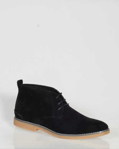 UNCUT RAGLAN BOOT - BLACK