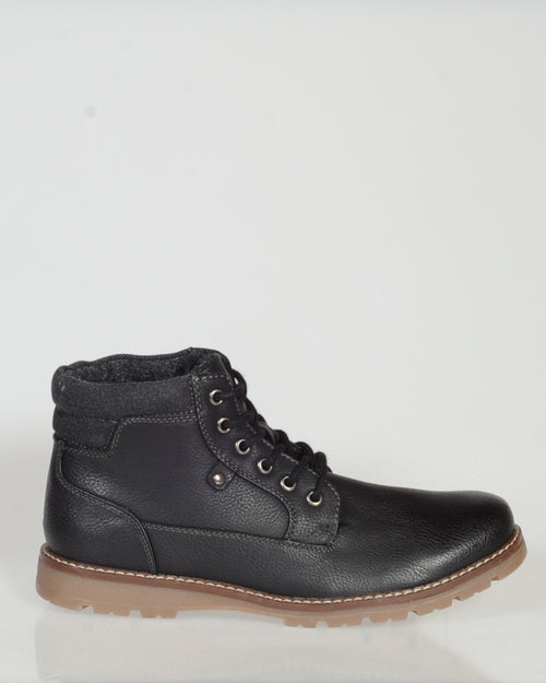 UNCUT NAPIER BOOT - BLACK