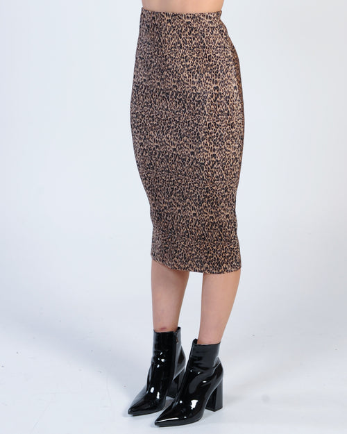 The Fifth Label Saloon Skirt - Leopard