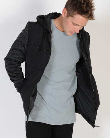 INDUSTRIE TECH APEX JACKET - CHARCOAL