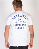 DTB SUPPLY SCORE CARD TEE - WHITE