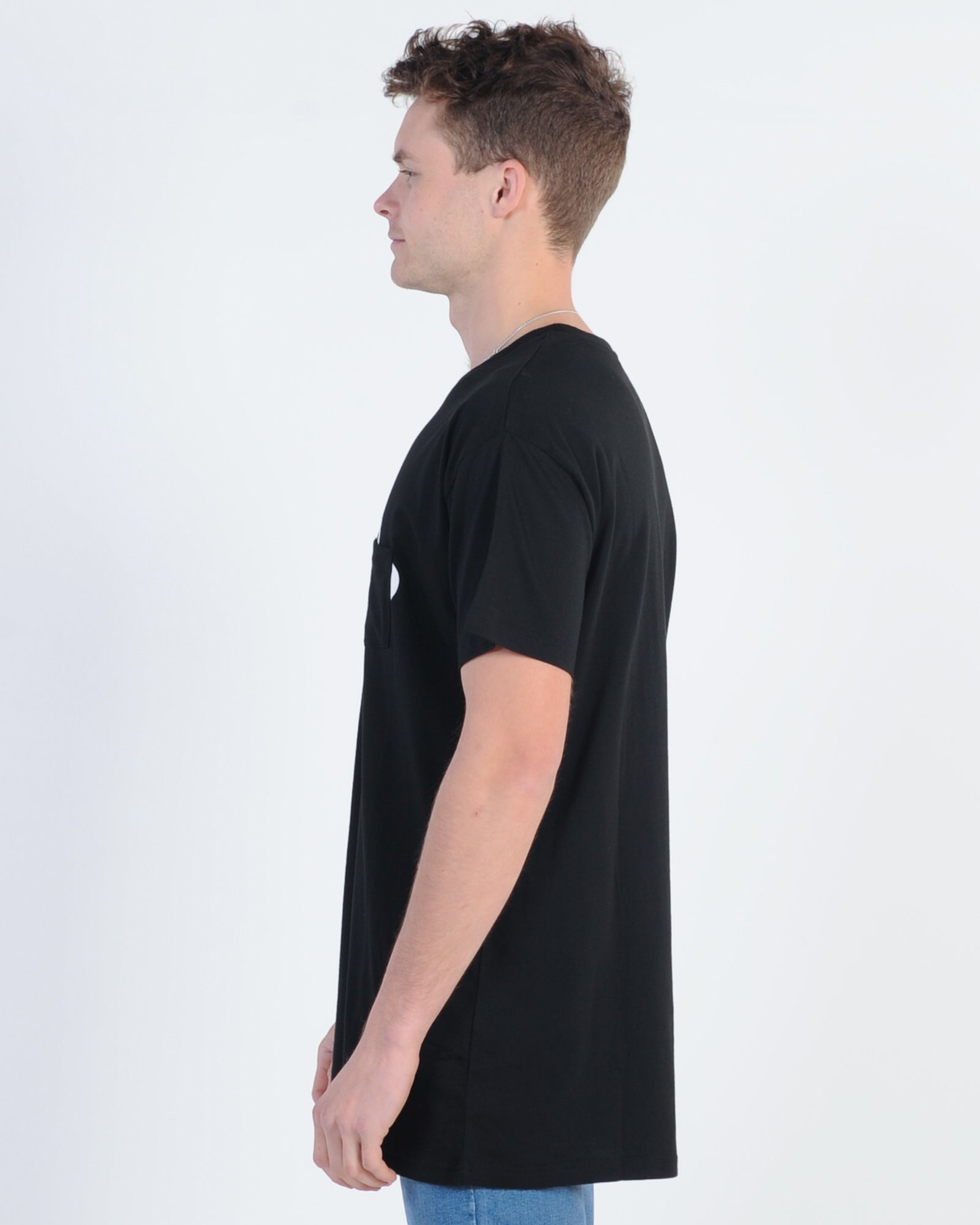 Wndrr Trauma Pocket Tee - Black