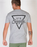 DTB SUPPLY CASCADE TEE - GREY MARLE