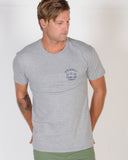 DTB SUPPLY SCORE CARD TEE - GREY MARLE