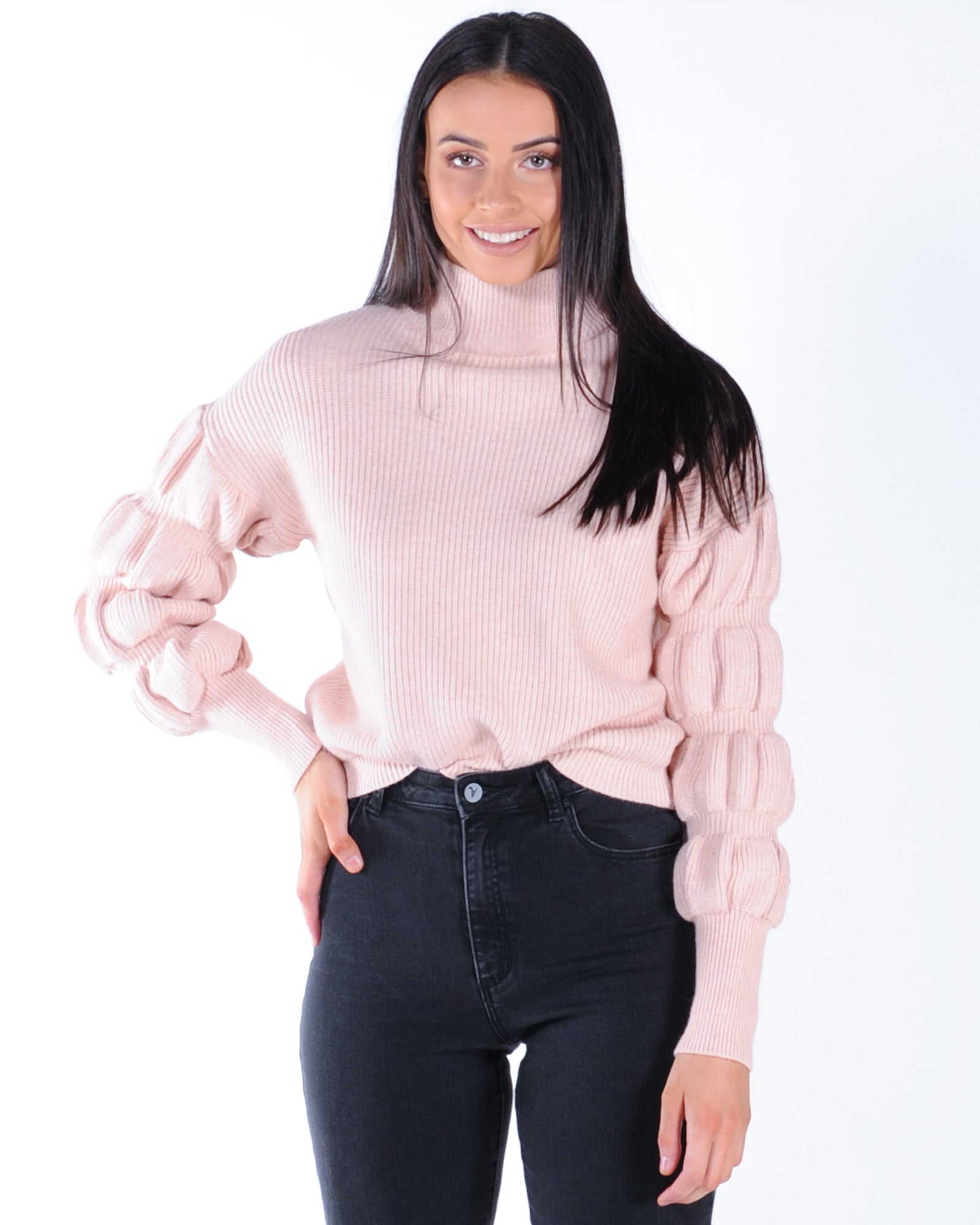 Oceans Apart Knit - Pink