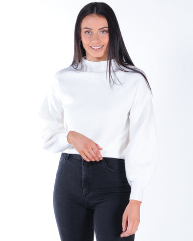 All About Eve Origin Crew Sweat - Washed Black