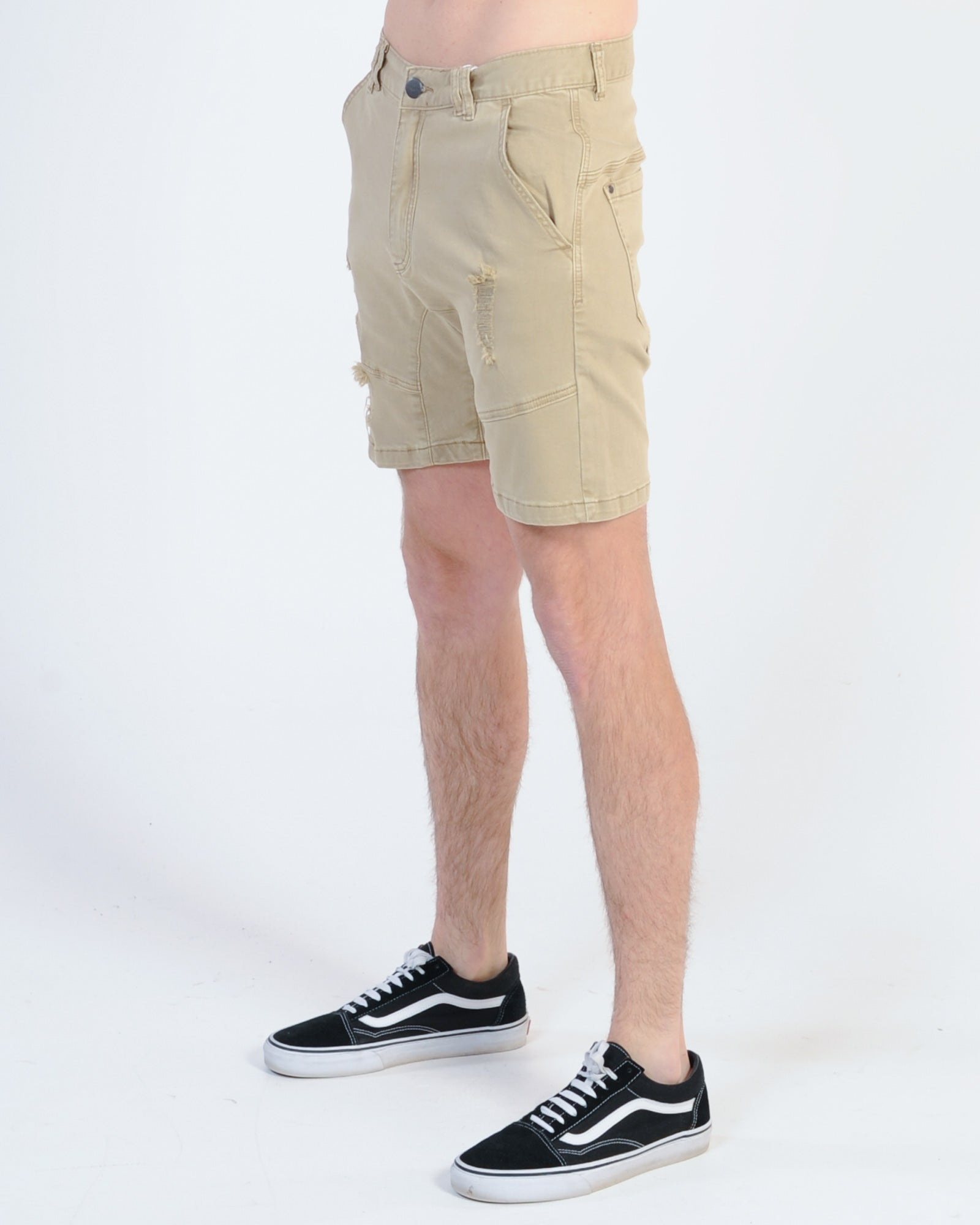 Nena & Pasadena Flight Short - Oxford Tan