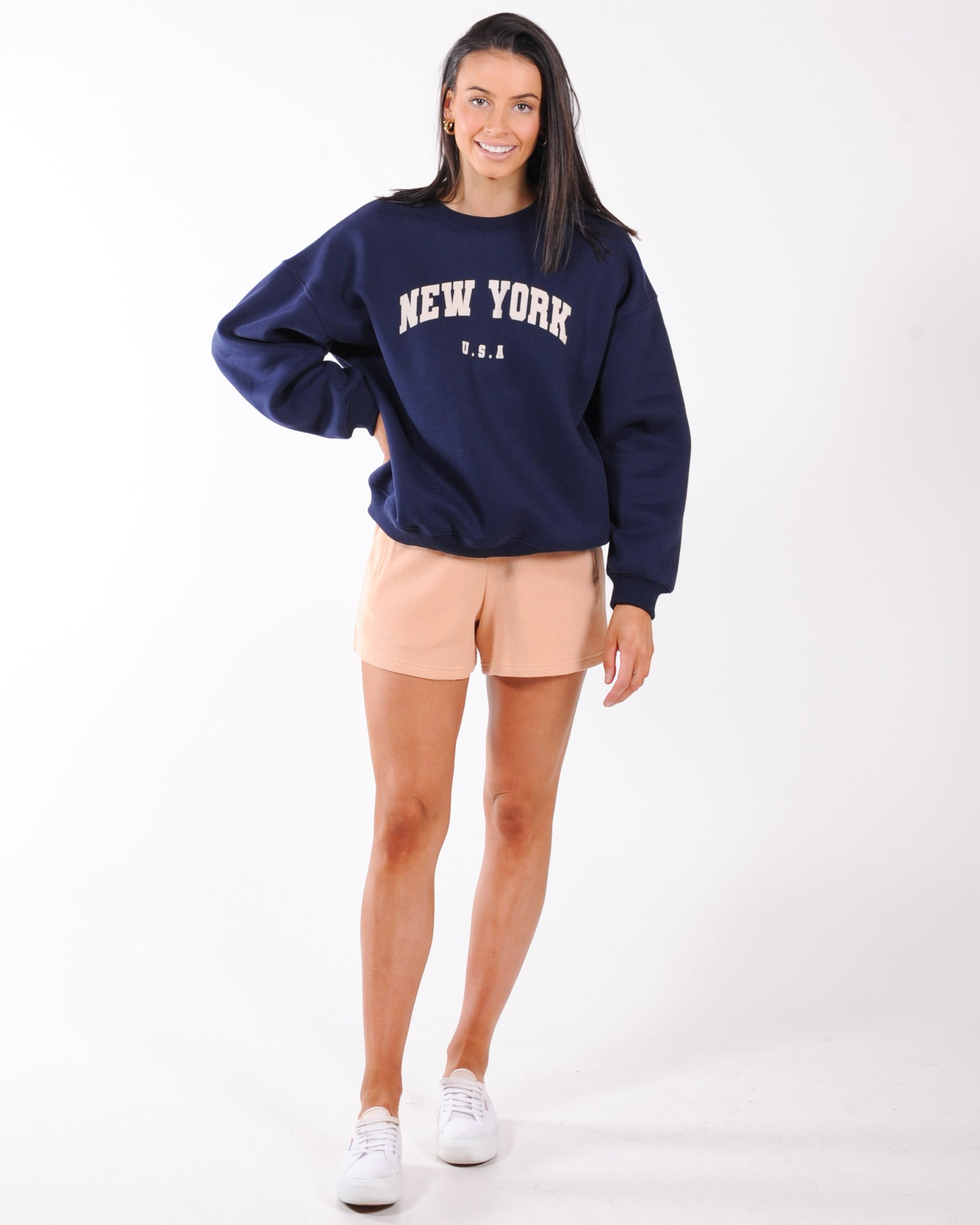 The College Sweat - Navy