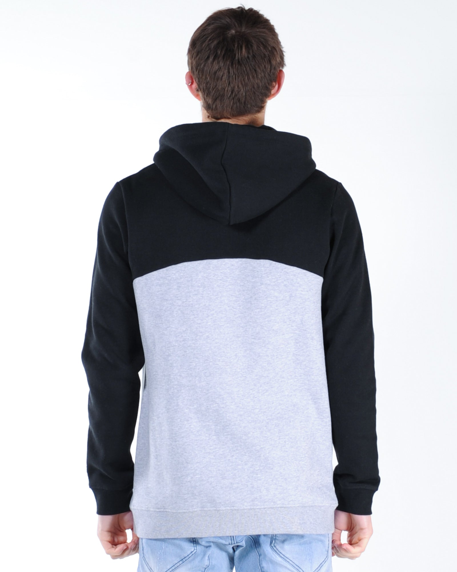 St. Goliath All-Pro Hood Sweat - Black/Grey