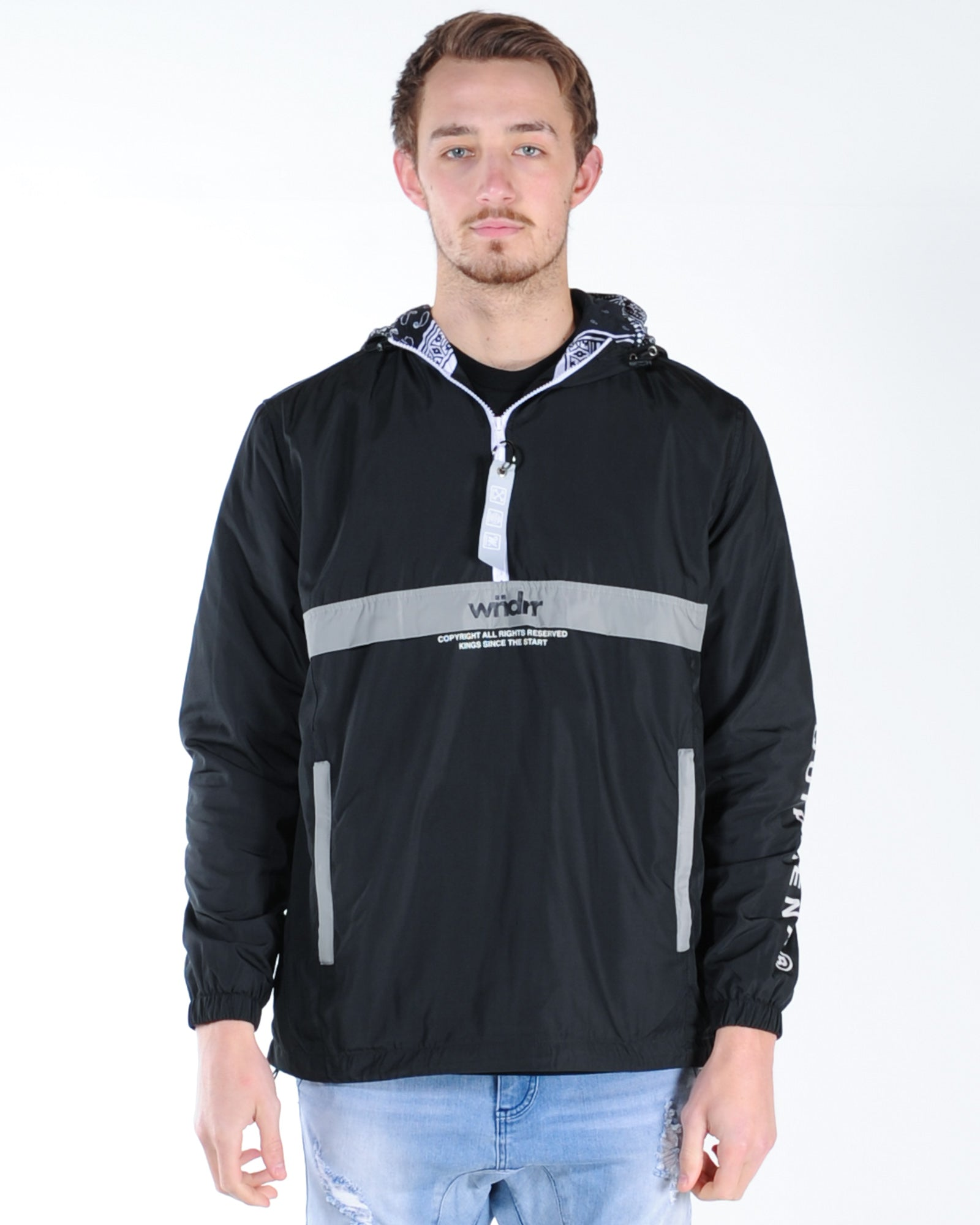 Wndrr Nonstop Spray Jacket - Black