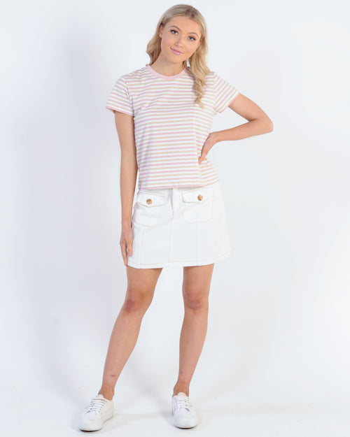 Nude Lucy Taylor Ringer Tee - Multi