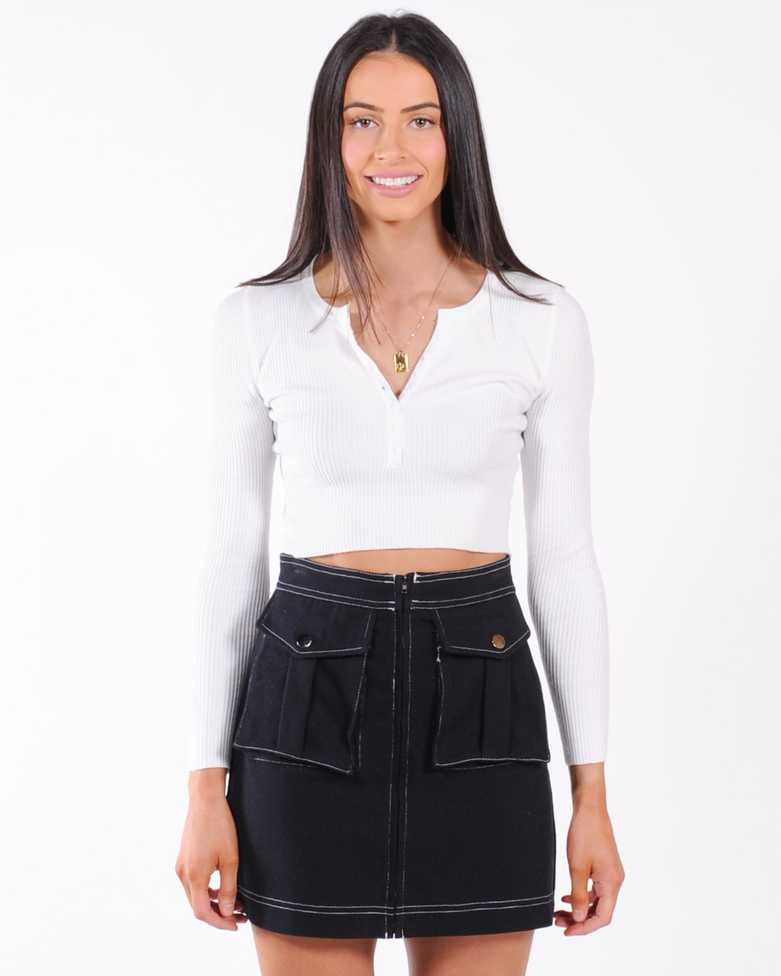 Fashion Fix Top - White