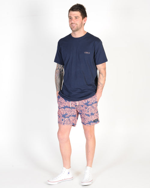 BARNEY COOLS COOLS OLYMPIC TEE - NAVY