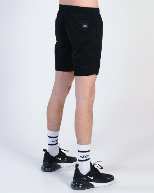 Wndrr Lead Beach Short - Black