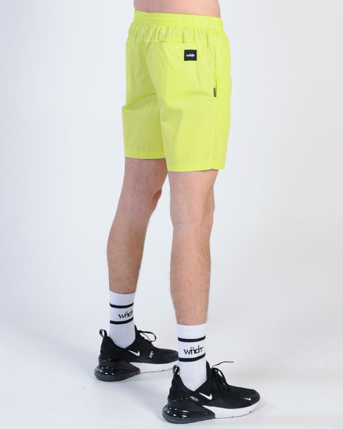 Wndrr Lead Beach Short - Fluro Green