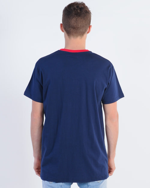 Wndrr Arc Custom Fit Tee - Navy