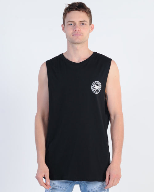 Wndrr Bank Muscle Top - Black