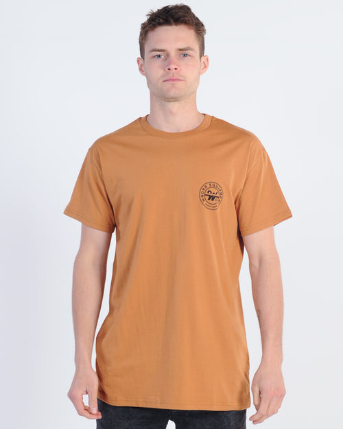 Wndrr Bank Custom Fit Tee - Almond