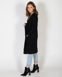 DOWN TOWN CARDIGAN - BLACK