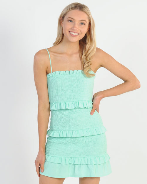 Summer Runaway Dress - Mint