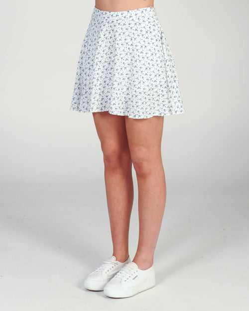 Dream Catcher Skirt - Navy Floral