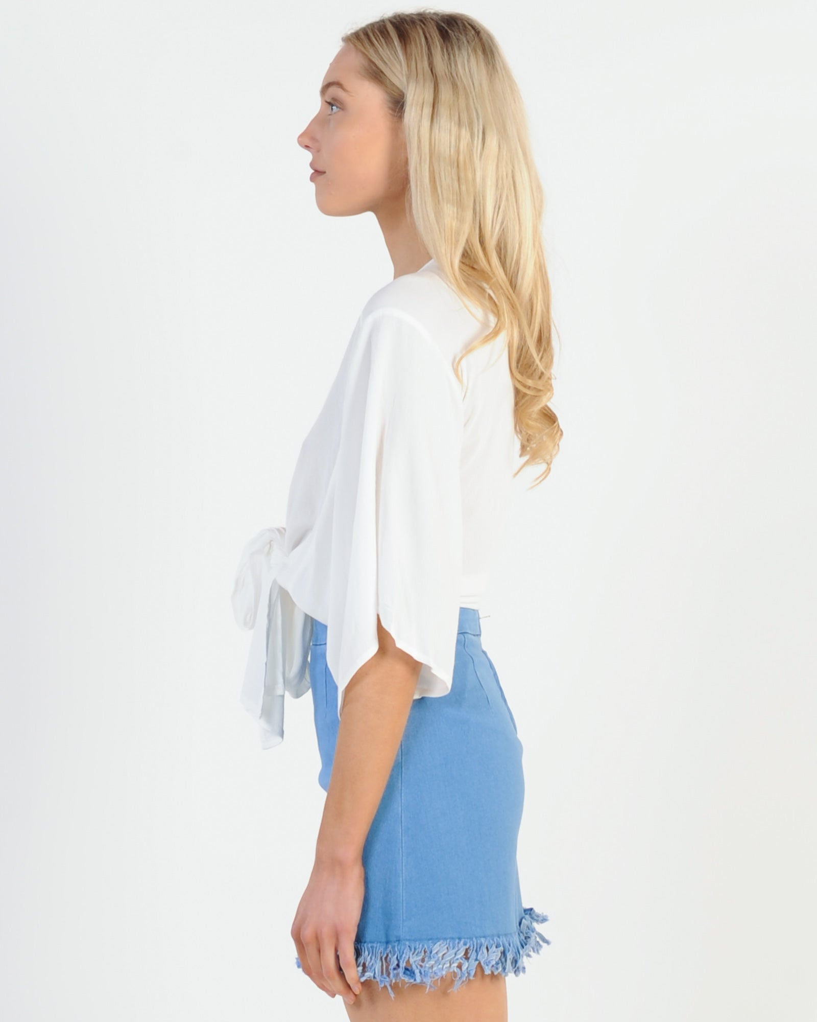 Story Of A Girl Skirt - Blue