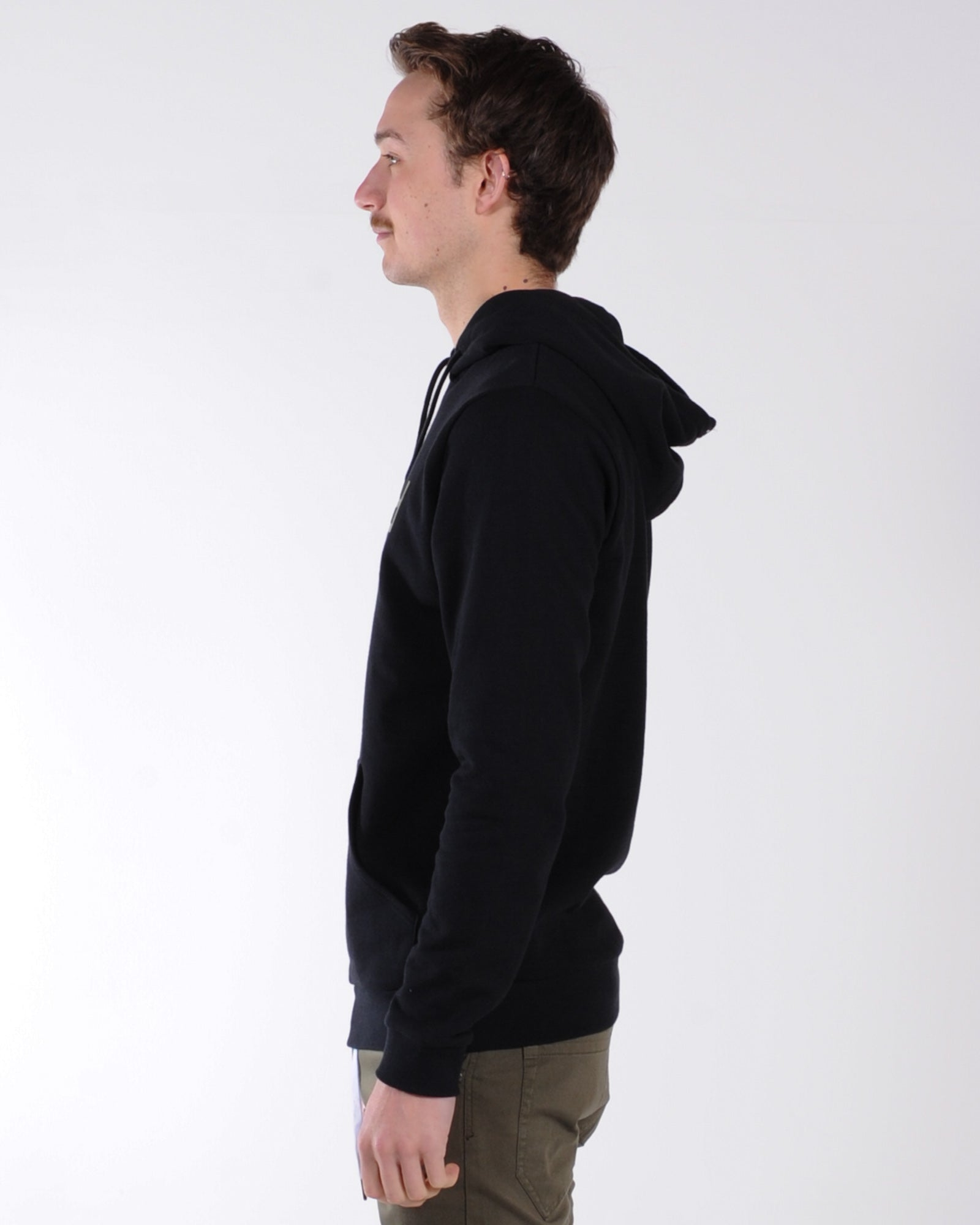 Rvca Flipped Pullover Hood Sweat - Aloe