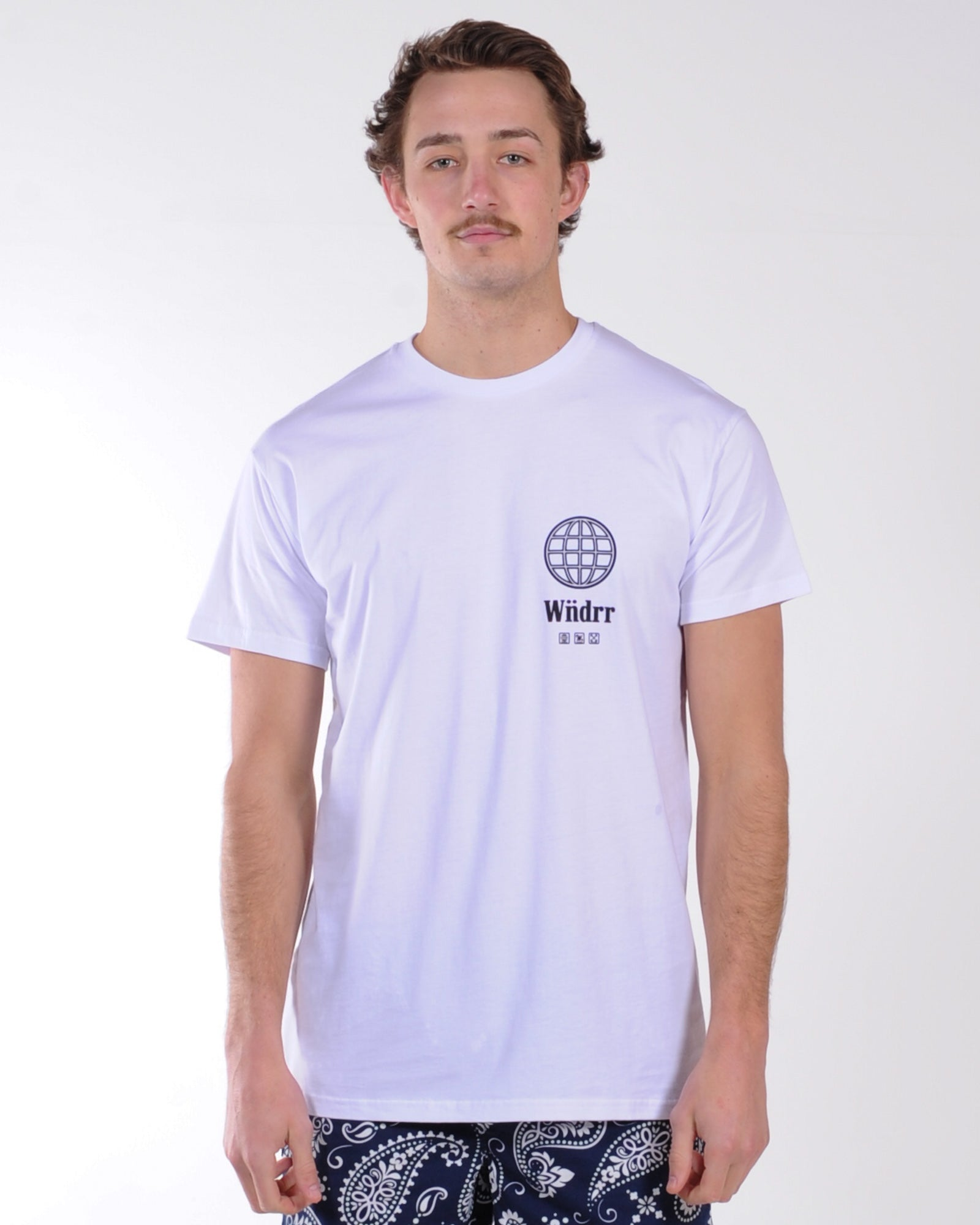 Wndrr Orbit Custom Fit Tee - White