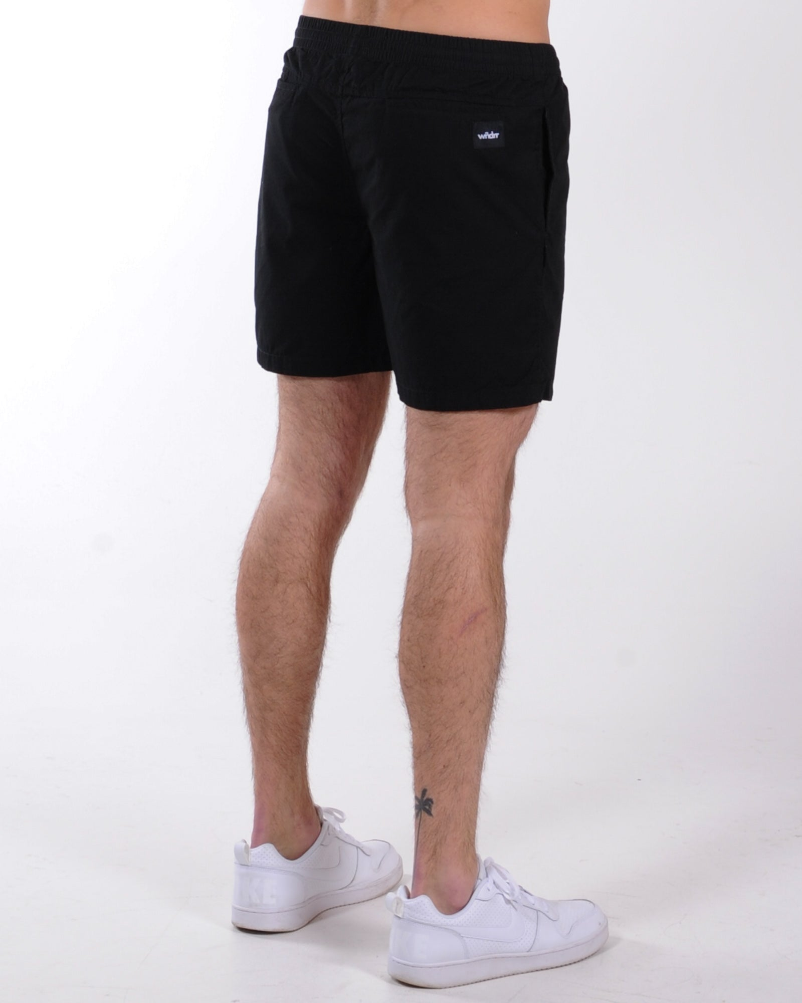 Wndrr Leader Beach Short - Black