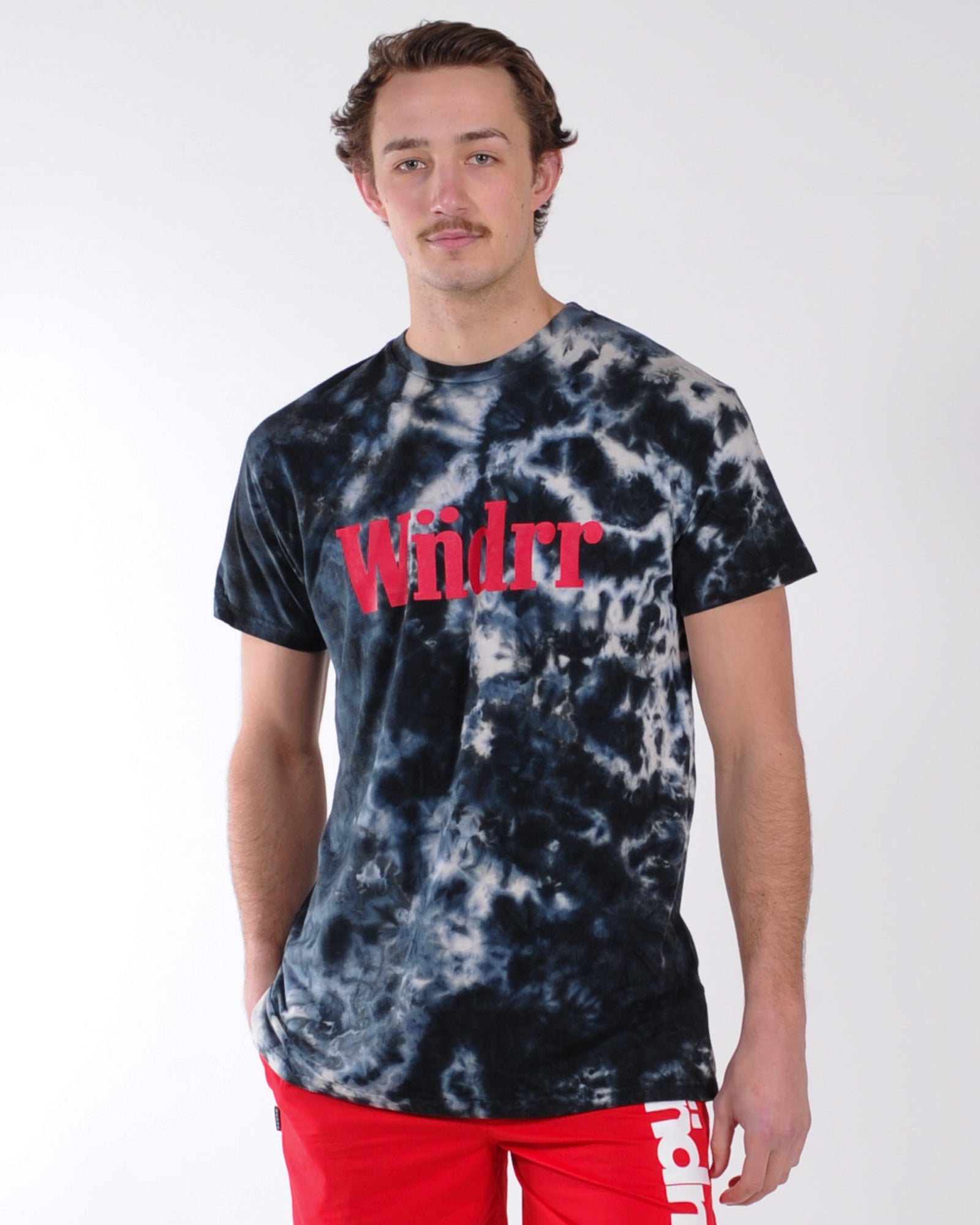 Wndrr Rufus Tie Dye Custom Fit Tee - Multi