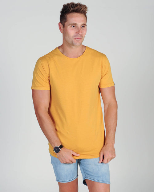 Silent Theory Tail Tee - Vintage Yellow