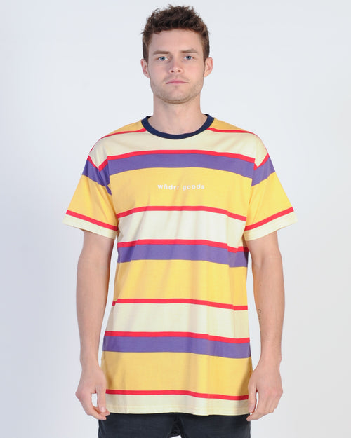 Wndrr Lee Stripe Tee - Multi