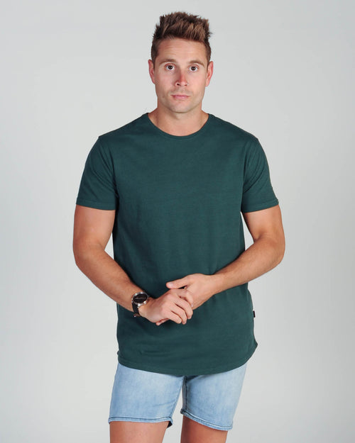 Silent Theory Tail Tee - Emerald