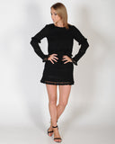 HANDLE MY TRUTH DRESS - BLACK