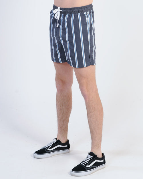 Silent Theory Slide Short - Iron Stripe