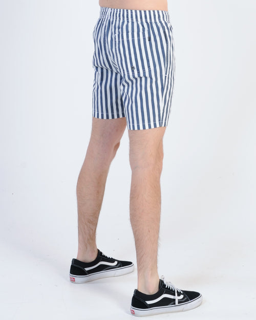 St. Goliath Barred Stripe Short - Navy