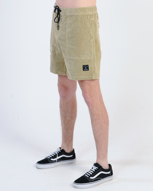 St. Goliath Dooley Bird Cord Short - Tan