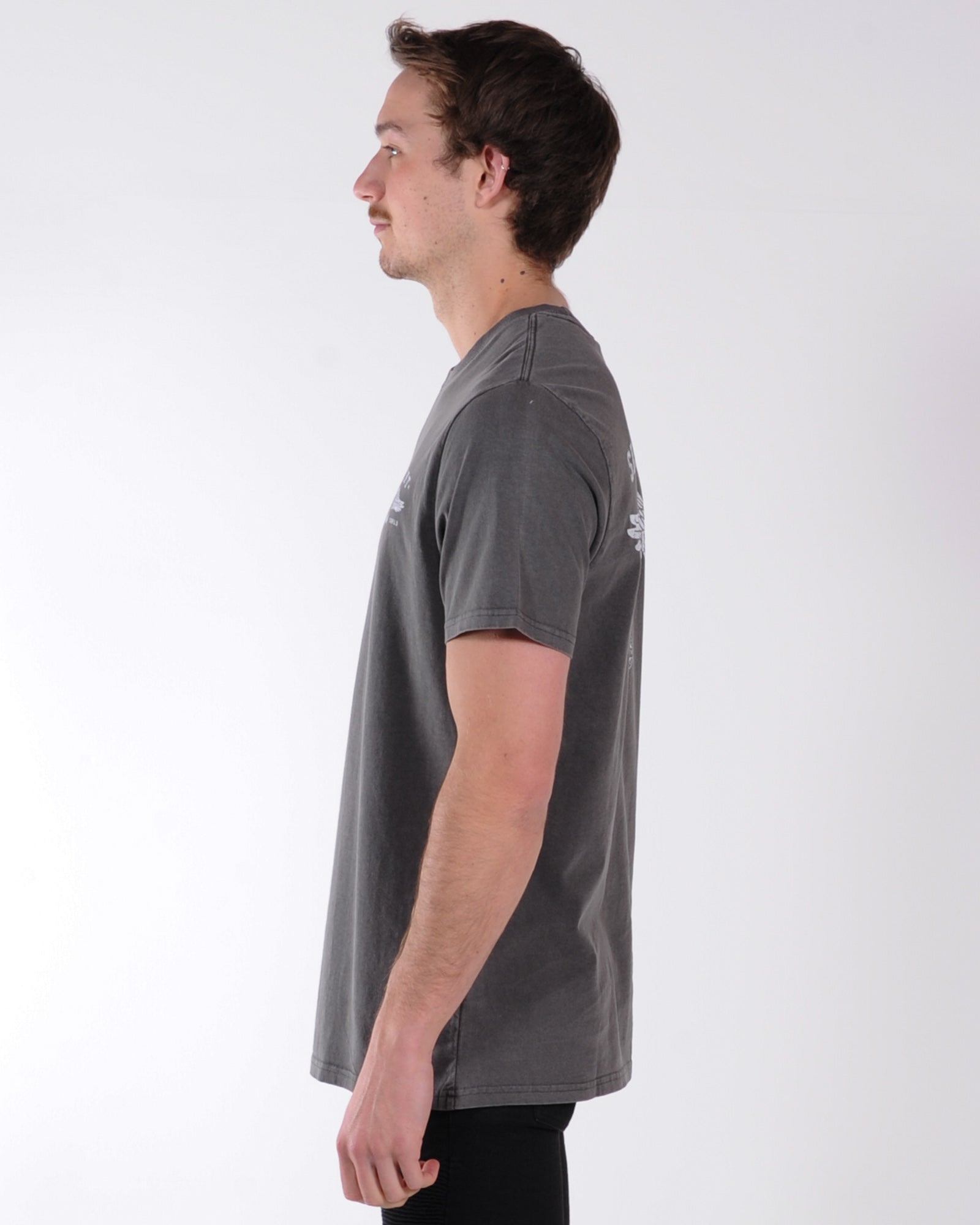 Silent Theory Service Tee - Coal