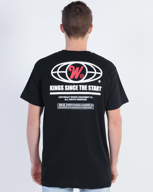 Wndrr Motion Custom Fit Tee - Black