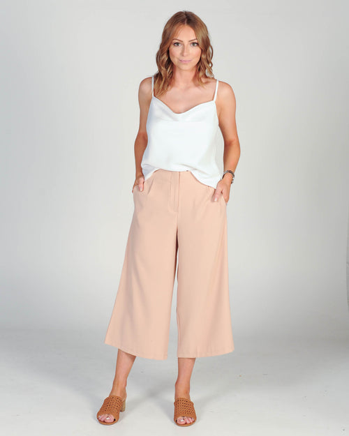 Make A Statement Pant - Blush