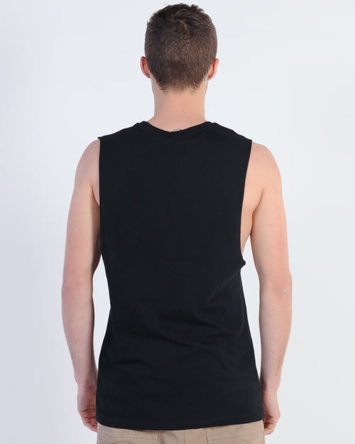 Wndrr Ministry Muscle Top - Black
