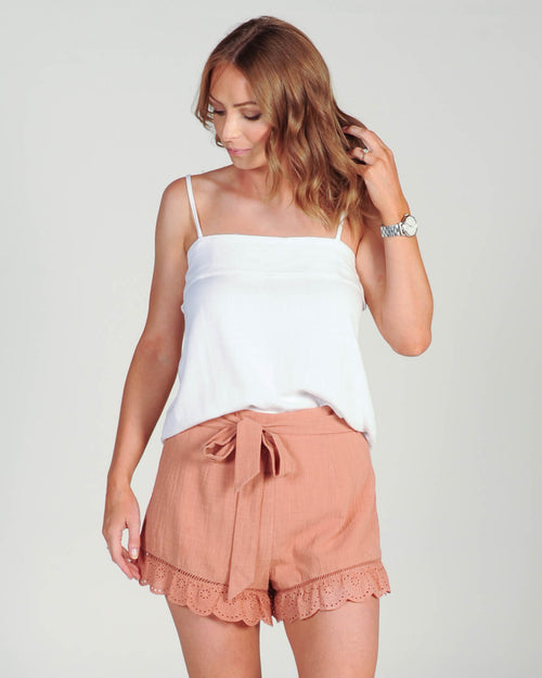 Summer Romance Shorts - Rust