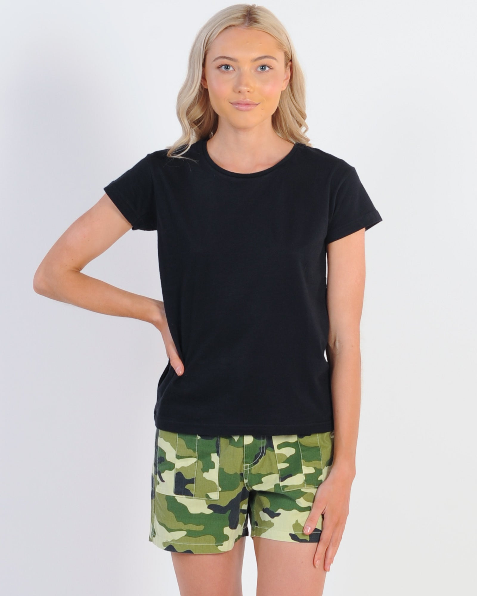 Silent Theory Polly Tee - Black
