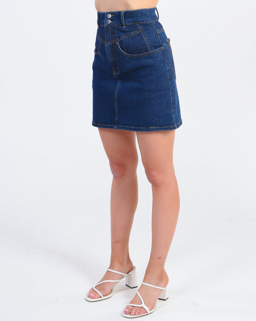 The Fifth Label Profile Skirt - Deep Blue
